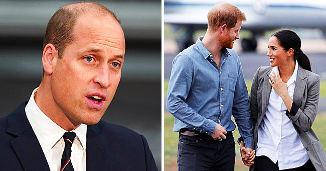 The Express: No End to William & Harry's Feud While Duke of Sussex Is 'Under the Thumb' of Meghan