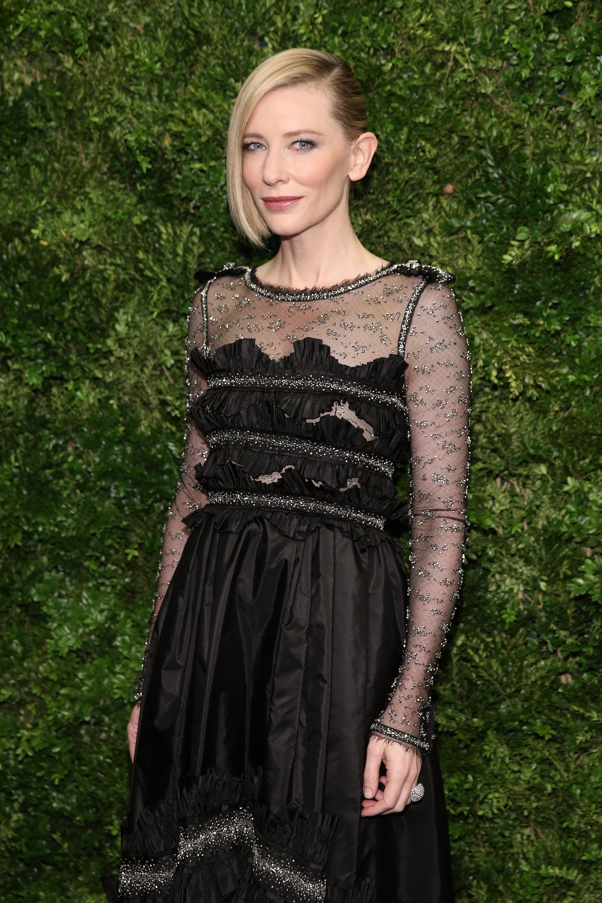 Cate Blanchett attends the Museum of Modern Art's 8th Annual Film Benefit Honoring Cate Blanchett in  2015 in New York City | Source: Getty Images