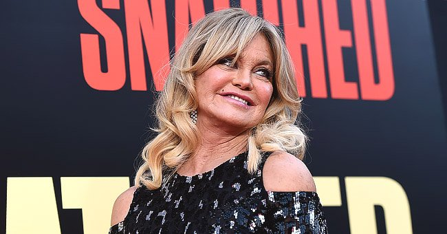 Goldie Hawn, 74, Shows off Her Age-Defying Beauty in Viral 2020 Meme Challenge
