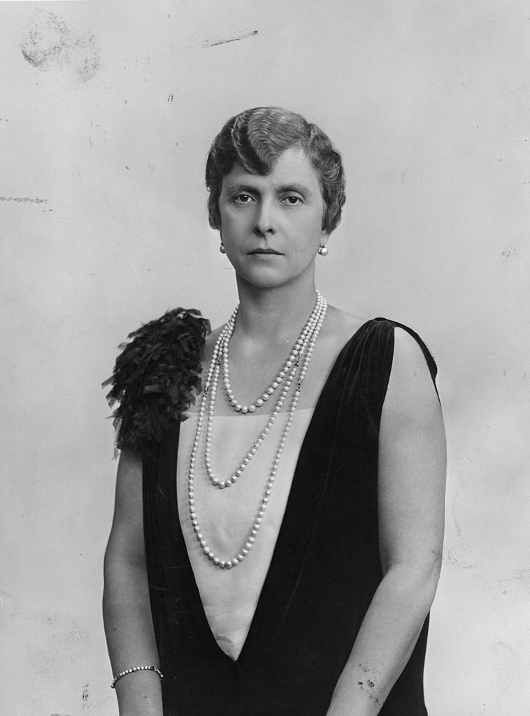 Princess Alice of Greece (1885 - 1969), mother of Prince Philip, the Duke of Edinburgh, and formerly Alice of Battenberg   Photo: Getty Images