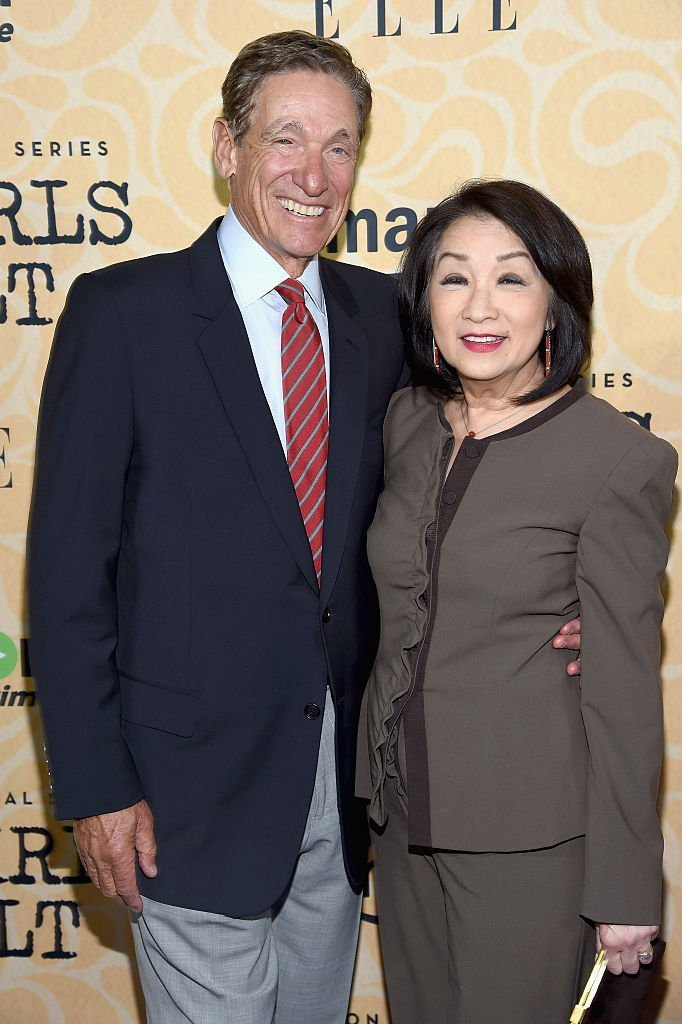 "Maury Povich (L) and Connie Chung attend the ""Good Girls Revolt"" New York Screening at the Joseph Urban Theater at Hearst Tower 