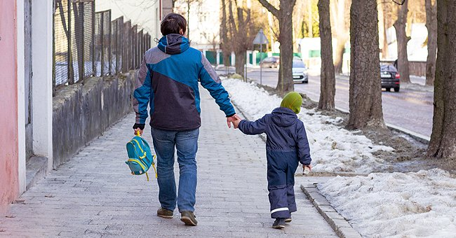 Daily Joke: A Father Picked up His Son from School