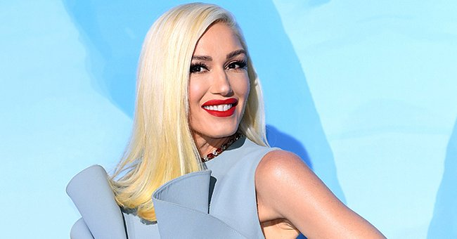 Gwen Stefani Flaunts Hot Pink Ball Gown While Filming Her New Music Video