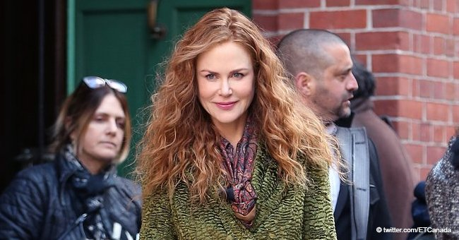 Nicole Kidman Spotted with Her Two Little Daughters Making a Rare Public Appearance