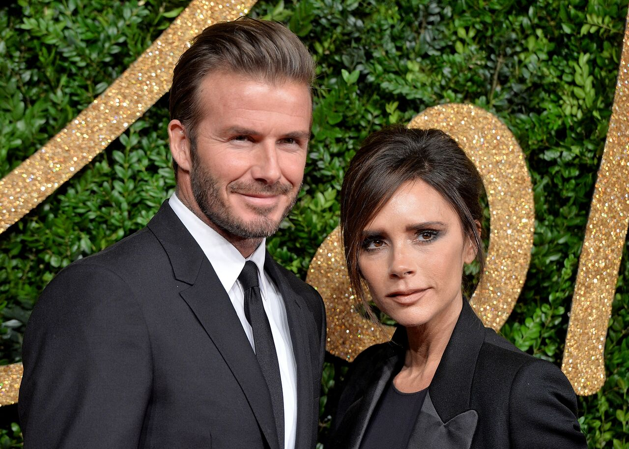David Beckham and Victoria Beckham attend the British Fashion Awards 2015. | Source: Getty Images