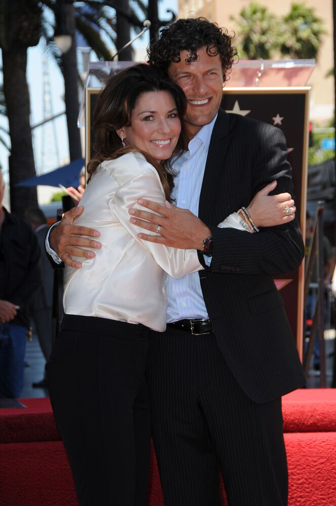 Shania Twain and Husband Fred at Shania Twain's Star On The Hollywood Walk Of Fame Ceremony. | Source: Shutterstock