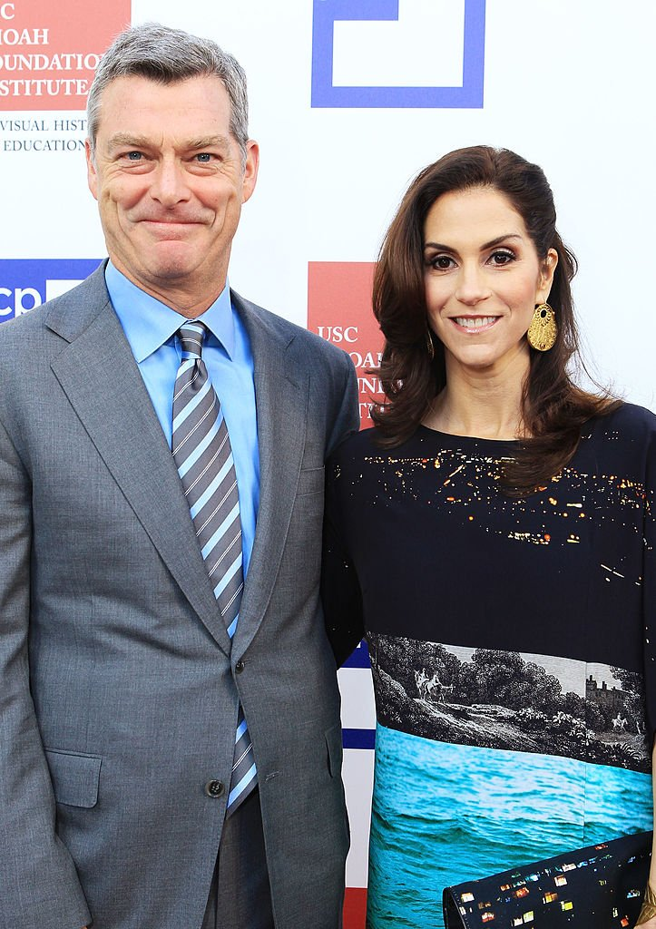 Tony Ressler and Jami Gertz at the USC Shoah Foundation Institute Ambassadors for Humanity Gala on June 6, 2012 in Hollywood, California | Photo: Getty Images