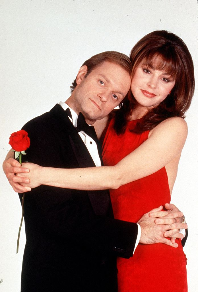 """David Hyde Pierce and Jane Leeves star in """"Frasier."""" 