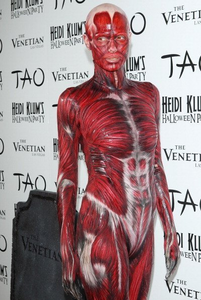 Heidi Klum arrives at her 12th Annual Halloween Party at TAO Nightclub at The Venetian | Image: Getty Images