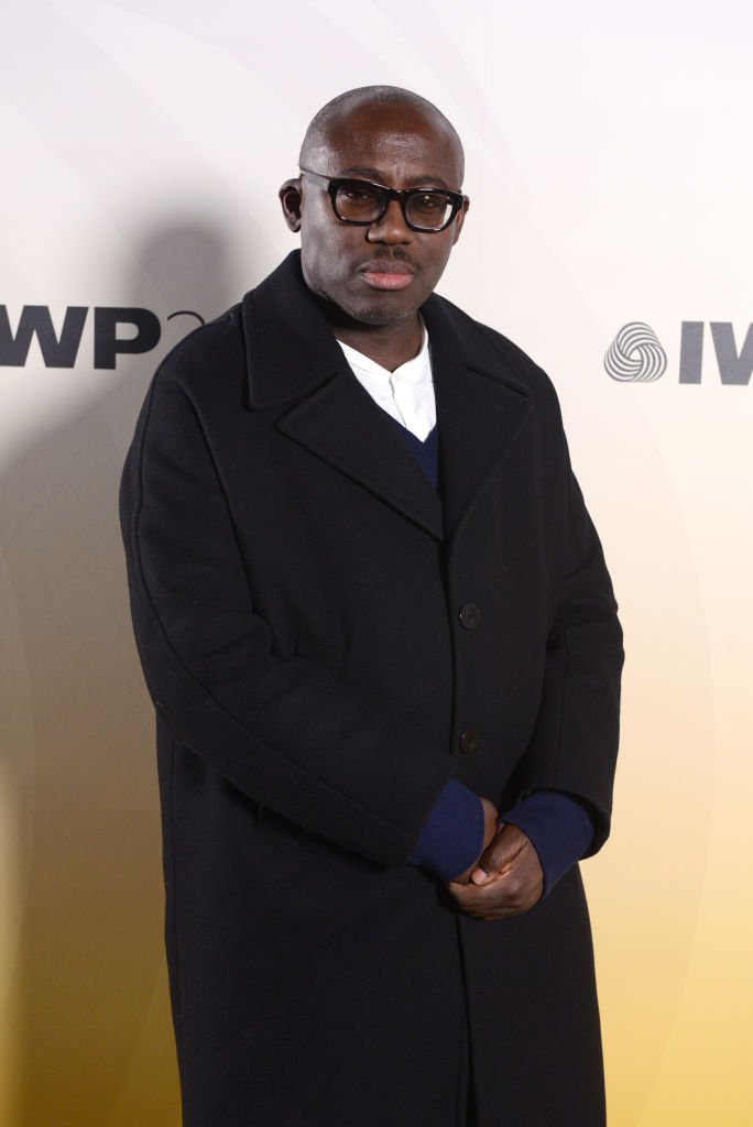 Edward Enninful attends the International Woolmark Prize 2020 during London Fashion Week February 2020 at Ambika P3 on February 17, 2020 | Photo: Getty Images