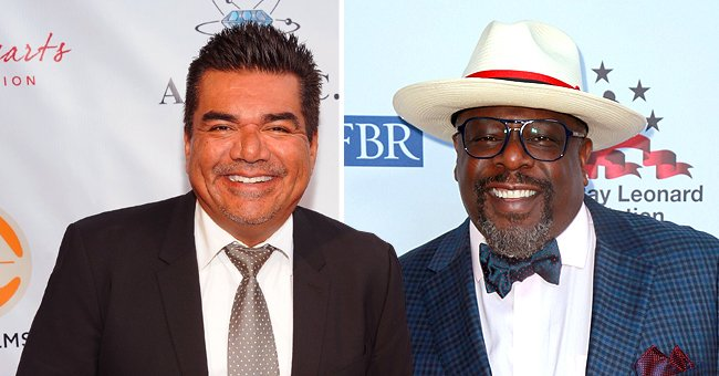 Cedric the Entertainer and George Lopez Celebrate Their Birthdays Together