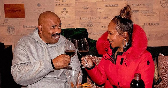 Steve Harvey and Wife Were Loved up like Teenagers as They Enjoyed Valentine's Day