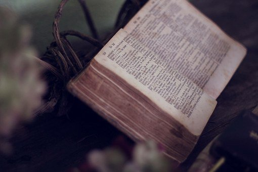 A Vintage Bible. | Source: Pixabay