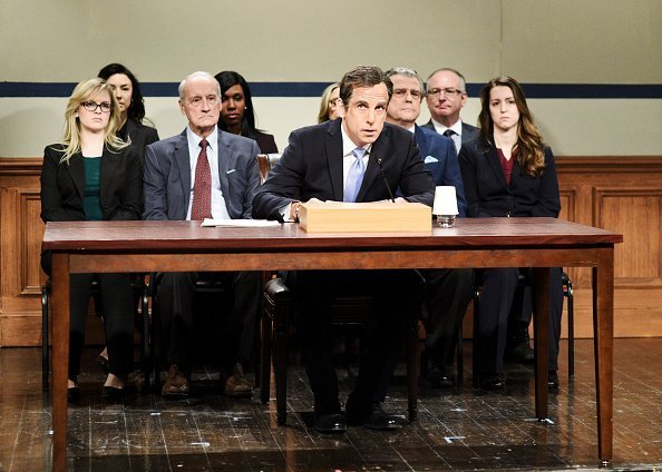 Ben Stiller as Michael Cohen during the 'Michael Cohen Hearing' Cold Open on Saturday, March 2, 2019 | Photo: Getty Images
