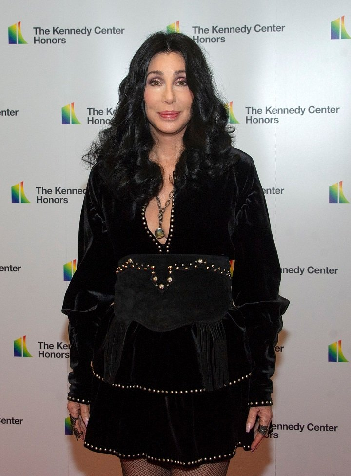 Cher arriving the formal Artist's Dinner honoring the recipients of the 41st Annual Kennedy Center Honors hosted by United States Deputy Secretary of State John J. Sullivan at the US Department of State in Washington, D.C. in December 2018.  I Image: Getty Images.
