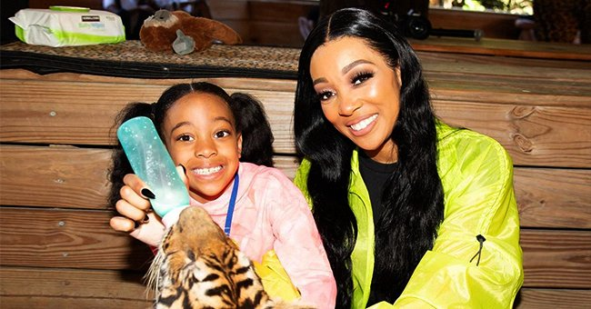 See How Monica Celebrated Her Daughter Laiyah's 7th Birthday with Tigers & Other Animals