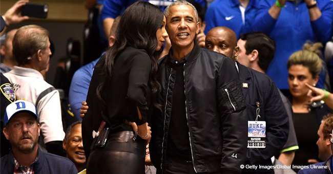 Barack Obama Made Rare Appearance in Casual Outfit and His Bomber Sparked Internet Overreacting.