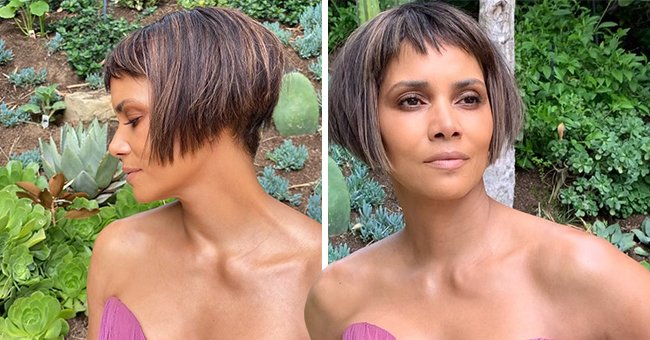 Halle Berry Reacts to Jokes about Her Oscars Bob Cut Hairstyle on Social Media