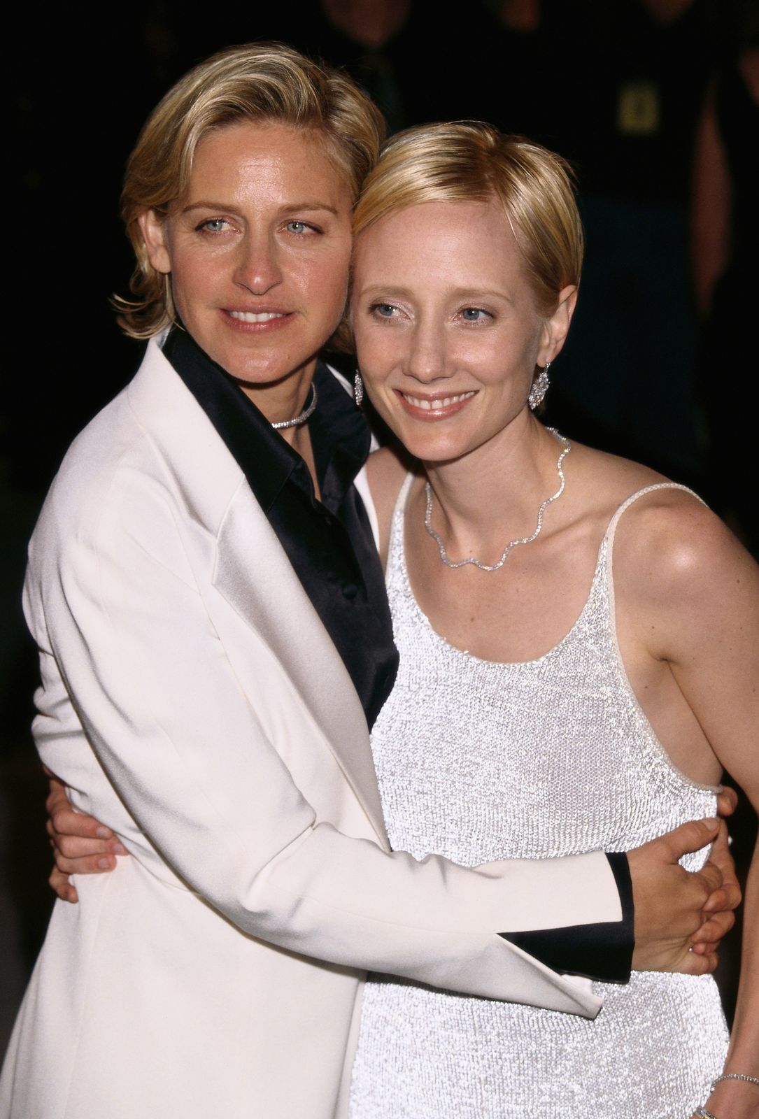 Ellen DeGeneres and Anne Heche at the 71st Annual Academy Awards - Elton John AIDS Foundation Party, 1999   Photo: Getty Images
