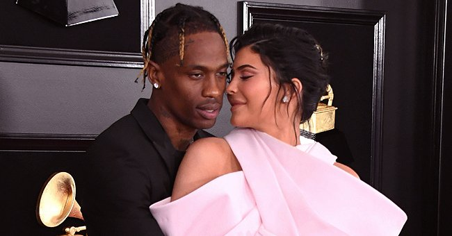 Kylie Jenner & Travis Scott Spent Time Together as They Posed for Photos with Daughter Stormi