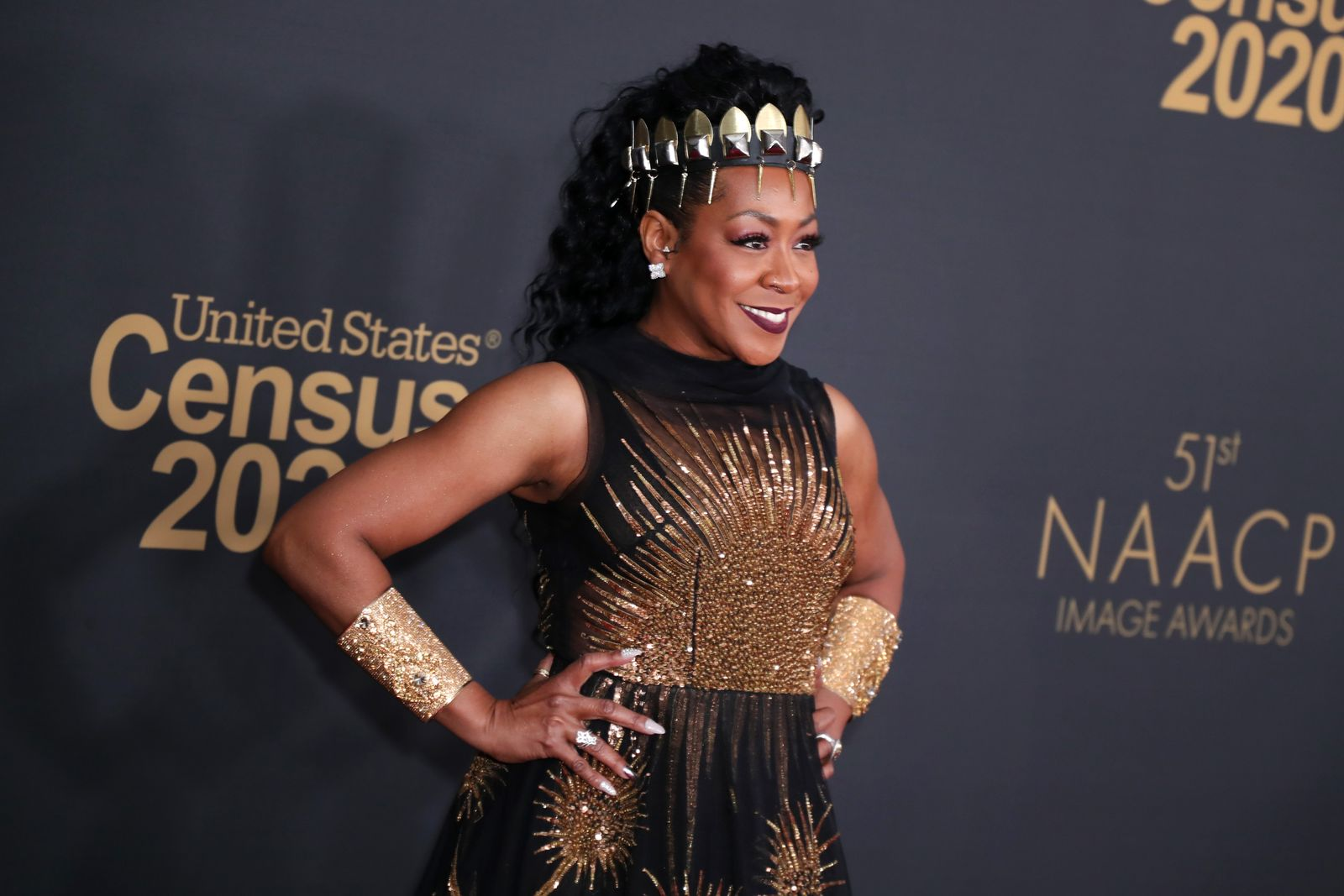 Tichina Arnold at the 51st NAACP Image Awards, 2020 in Pasadena, California | Source: Getty Images