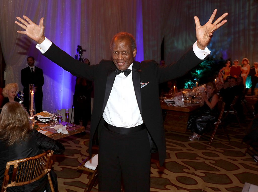 Actor Sidney Poitier attends the Brigitte and Bobby Sherman Children's Foundation's 6th Annual Christmas Gala and Fundraiser at Montage Beverly Hills on December 19, 2015. | Photo: Getty Images