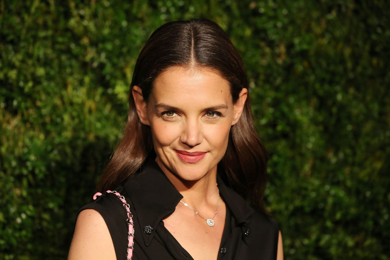 Katie Holmes at the 11th Annual Chanel Tribeca Film Festival Artists Dinner at Balthazar on April 18, 2016 in New York City | Photo: Getty Images