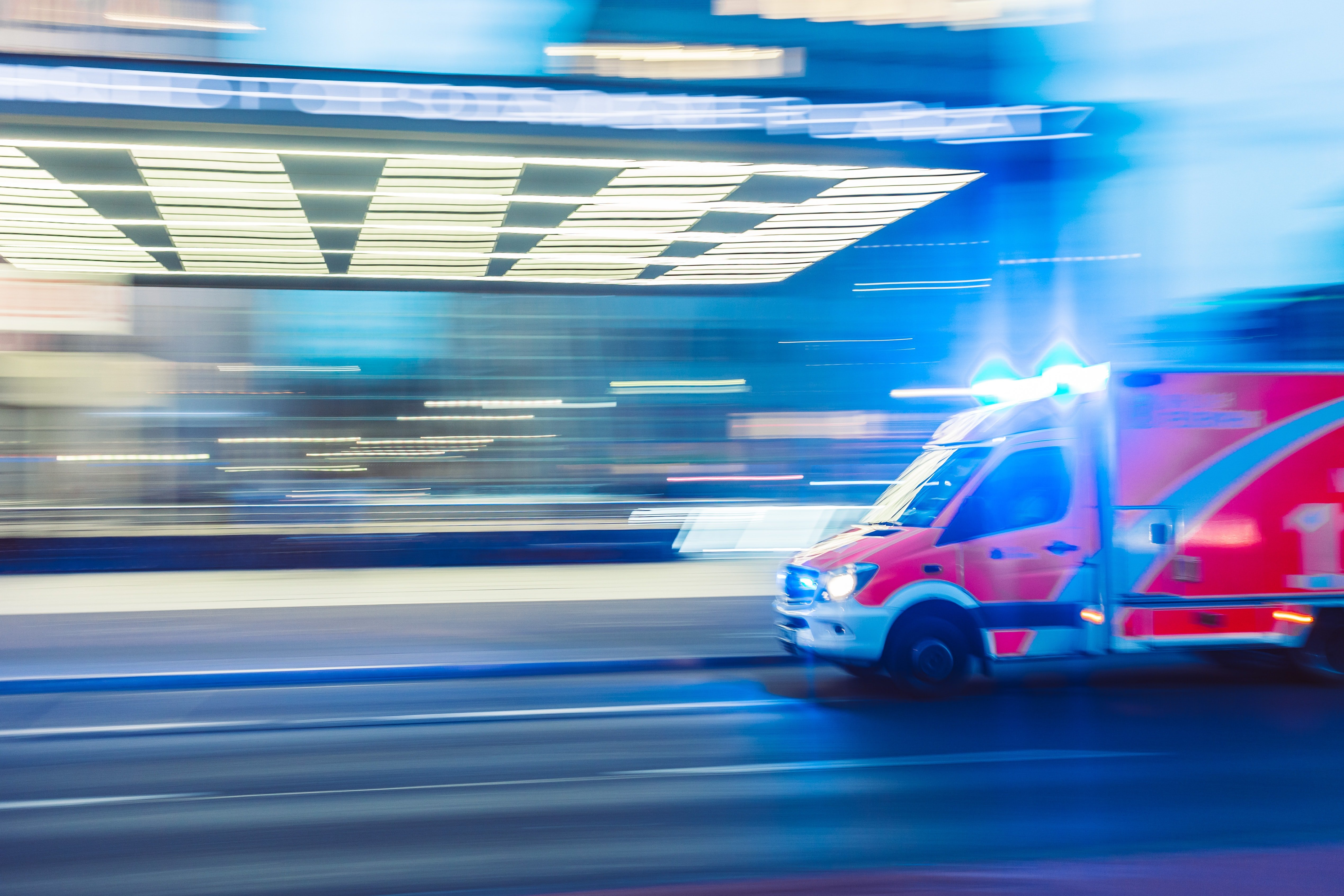 Emergency vehicles approached Ryan's house. | Source: Unsplash