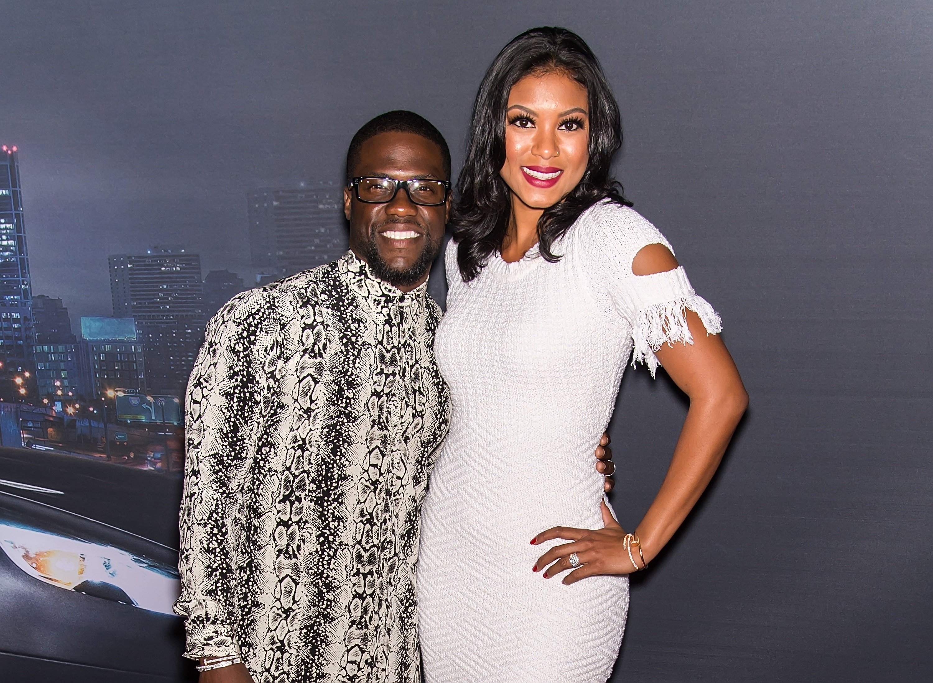 Kevin and Eniko Hart at 'Kevin Hart: What Now?' Philadelphia Screening on Oct. 12, 2016 | Photo: Getty Images
