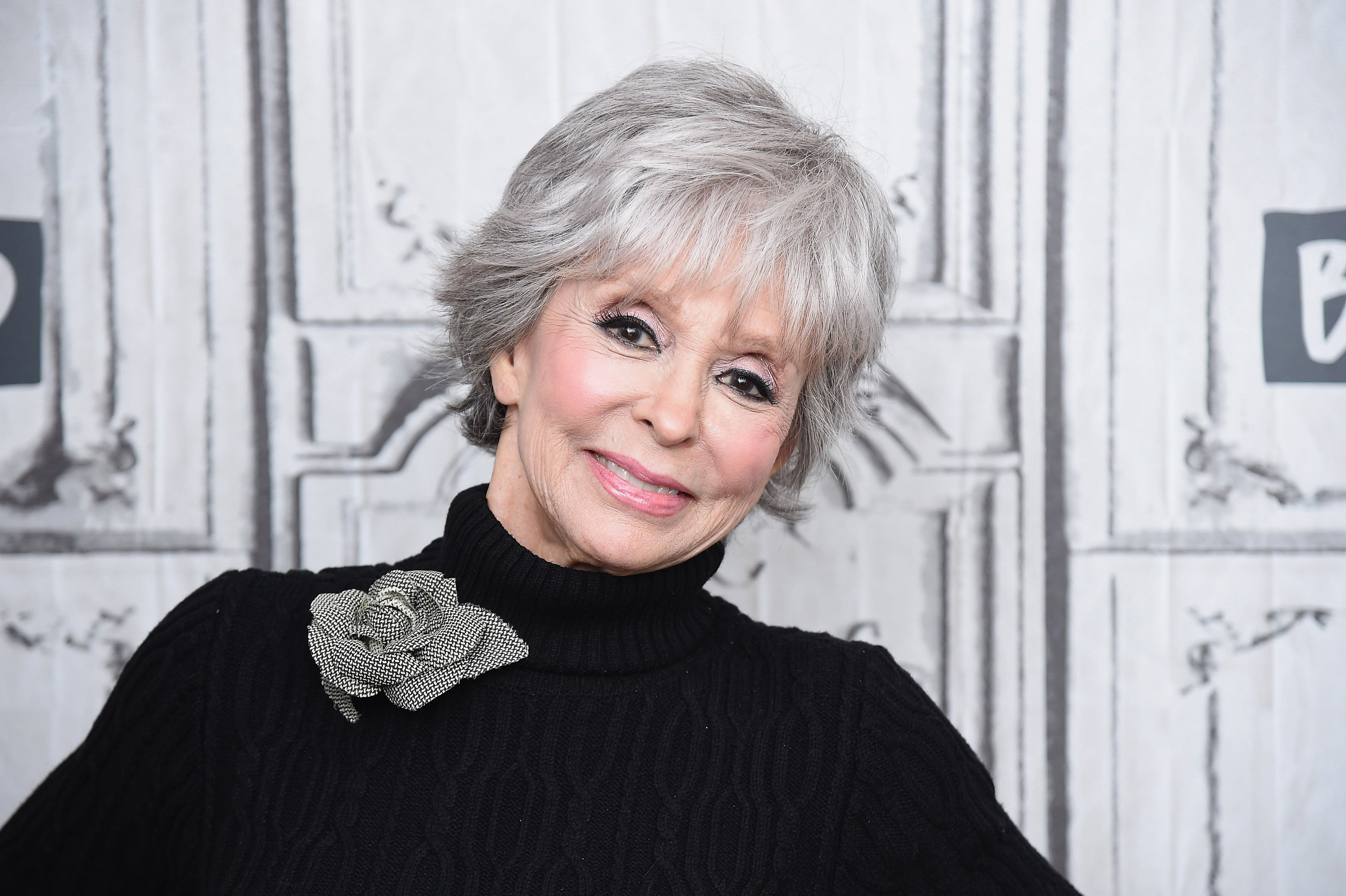 Rita Moreno visits the Build Series to discuss the Netflix re-boot of the classic show 'One Day at a Time' and the new production of the film 'Westside Story' at Build Studio on February 06, 2019, in New York City. | Source: Getty Images.