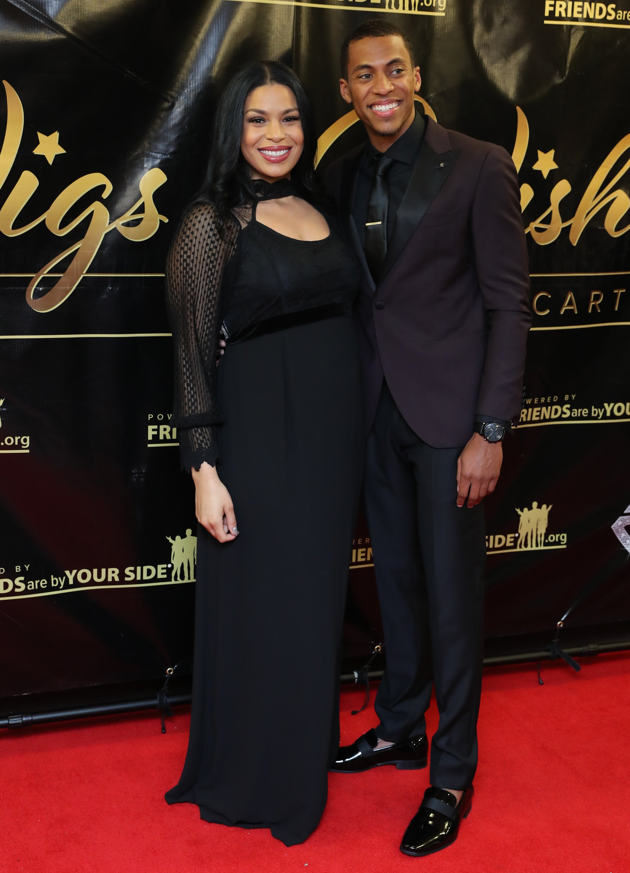 Jordin Sparks & Dana Isaiah at the 2017 One Night With The Stars on Dec. 4, 2017 in New York City | Photo: Getty Images