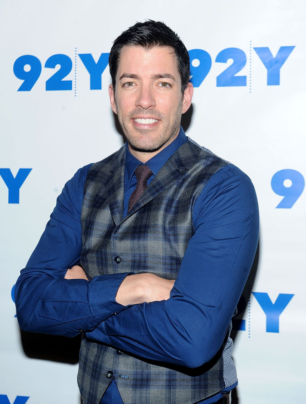 Drew Scott attends the 92nd Street Y Talk With HGTV'S Jonathan And Drew Scott at 92nd Street Y on April 5, 2016. | Source: Getty Images
