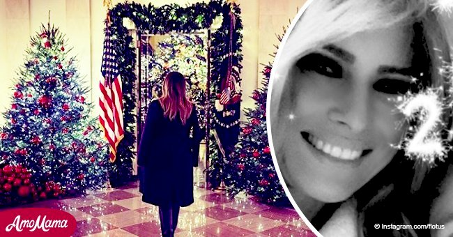 Melania Trump shared rare sparkling selfie on New Year's eve without Donald Trump