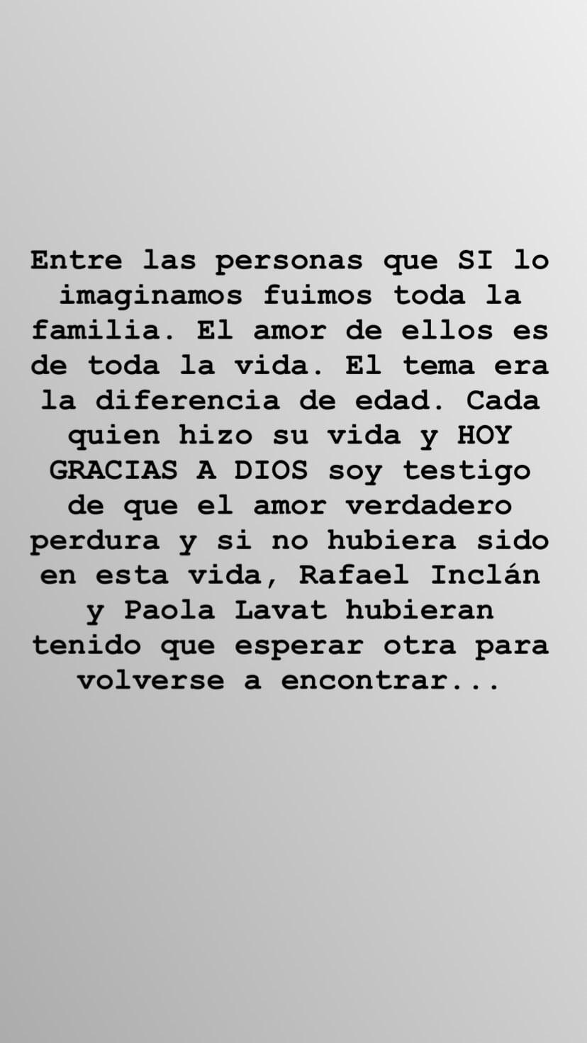 Captura de pantalla de historia de Instagram. | Imagen: Instagram/ adrianalavat