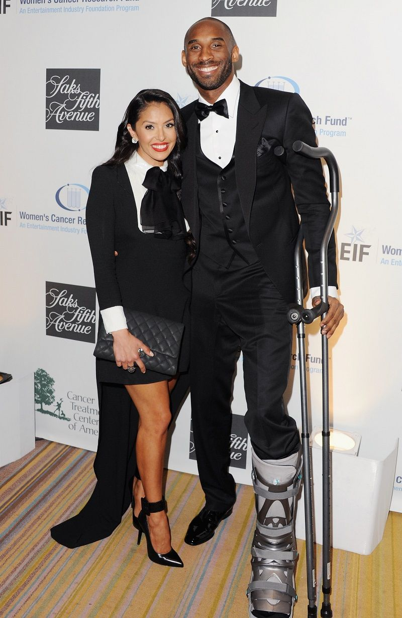 """Vanessa and Kobe Bryant at """"An Unforgettable Evening"""" benefiting EIF's Women's Cancer Research Fund on May 2, 2013.   Photo: Getty Images"""