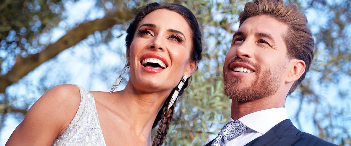Pilar Rubio revela fotos inéditas de su boda con Sergio Ramos