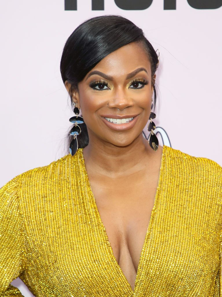 Kandi Burruss at the 13th Annual Essence Black Women In Hollywood Awards Luncheon, February 2020 | Photo: Getty Images