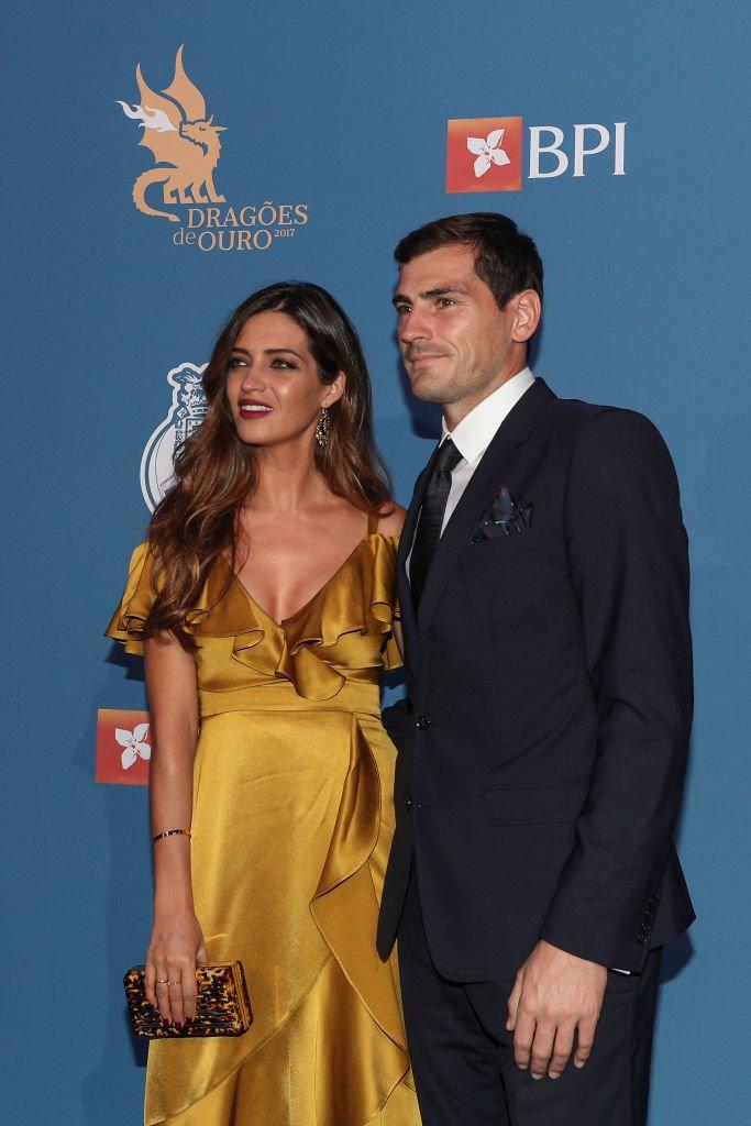 Sara Carbonero e Iker Casillas asisten a la Gala Dragoes de Ouro. l Fuente: Getty Images