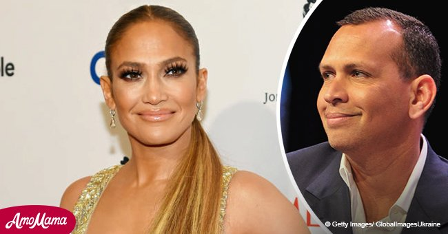 Jennifer Lopez puts on public display of her feelings towards beau wearing sparkling Yankees hat