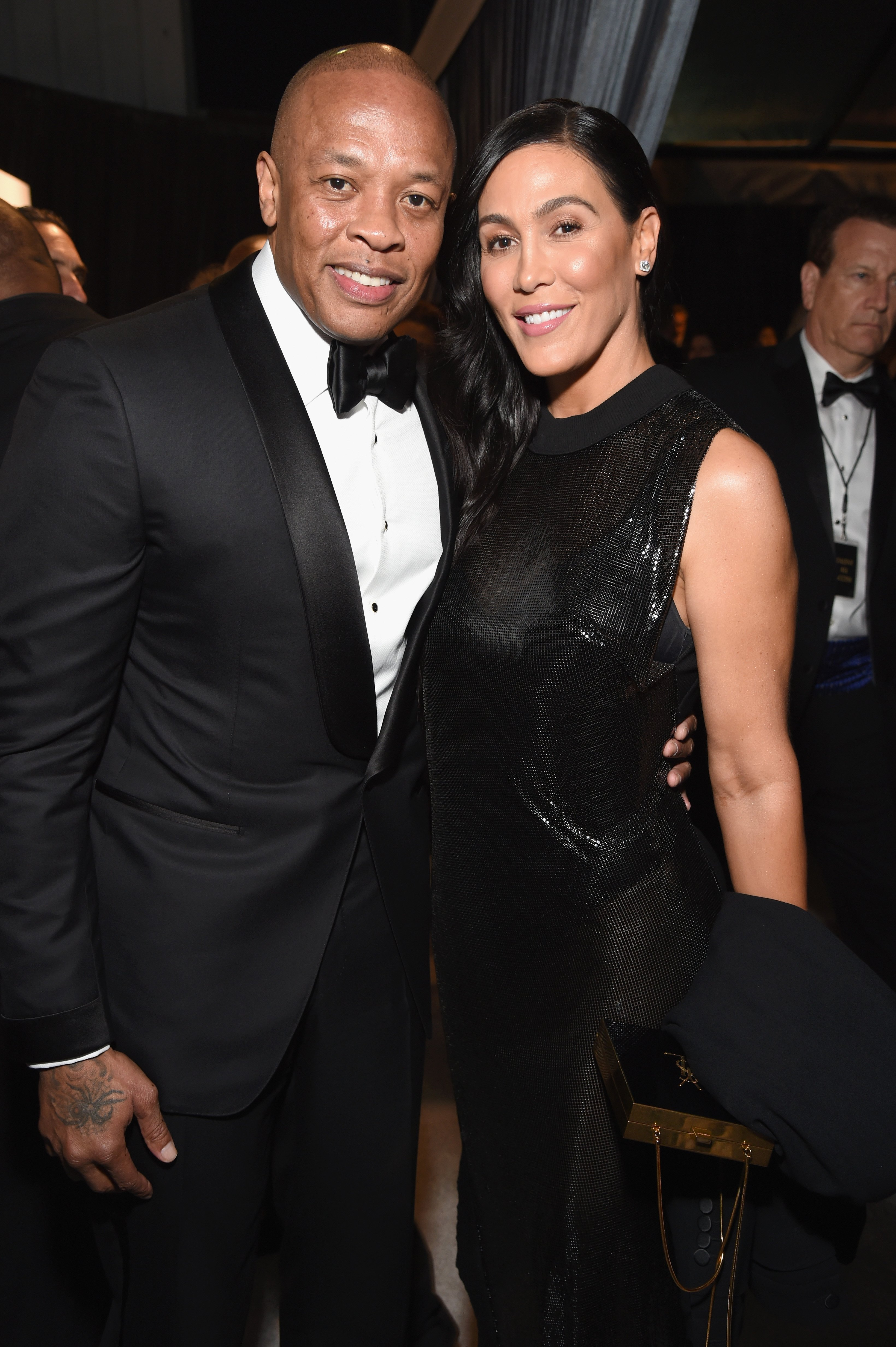 Dr. Dre and Nicole Young at the City of Hope Spirit of Life Gala 2018 at Barker Hangar on October 11, 2018 in Santa Monica, California| Source: Getty Images