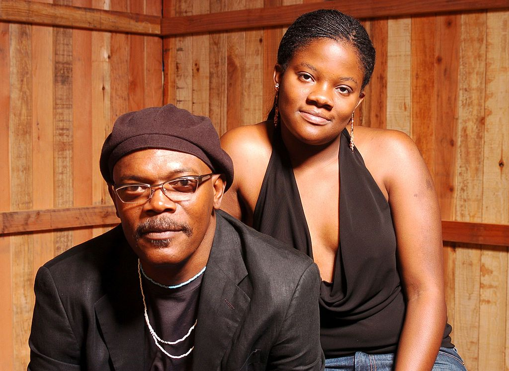 Samuel L. Jackson and daughter Zoe at the Los Angeles Film Festival in 2004 | Source: Getty Images
