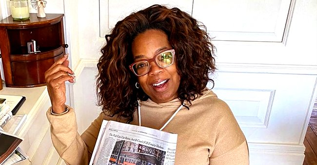 Oprah Winfrey Cooks Spaghetti Carbonara & Salutes Parents Cooking Meals Round the Clock Amid Quarantine