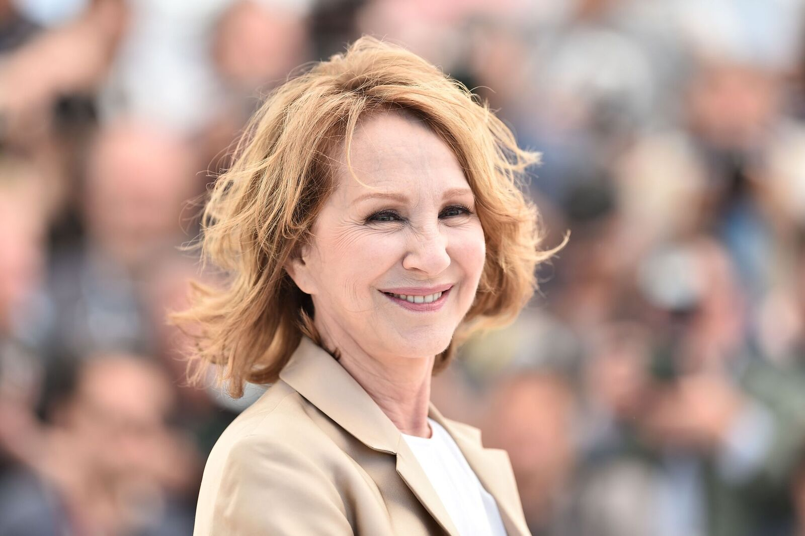 Nathalie Baye assiste au Palais des Festivals le 19 mai 2016 à Cannes, France. |  Photo : Getty Images