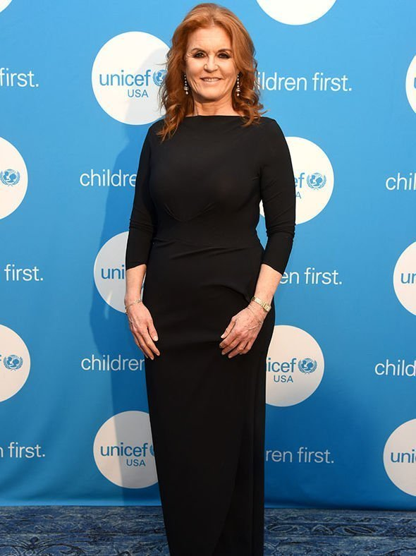 Sarah Ferguson attending the annual Emergency Fund Gala in Dallas. Image credit: Getty/Global Images Ukraine.