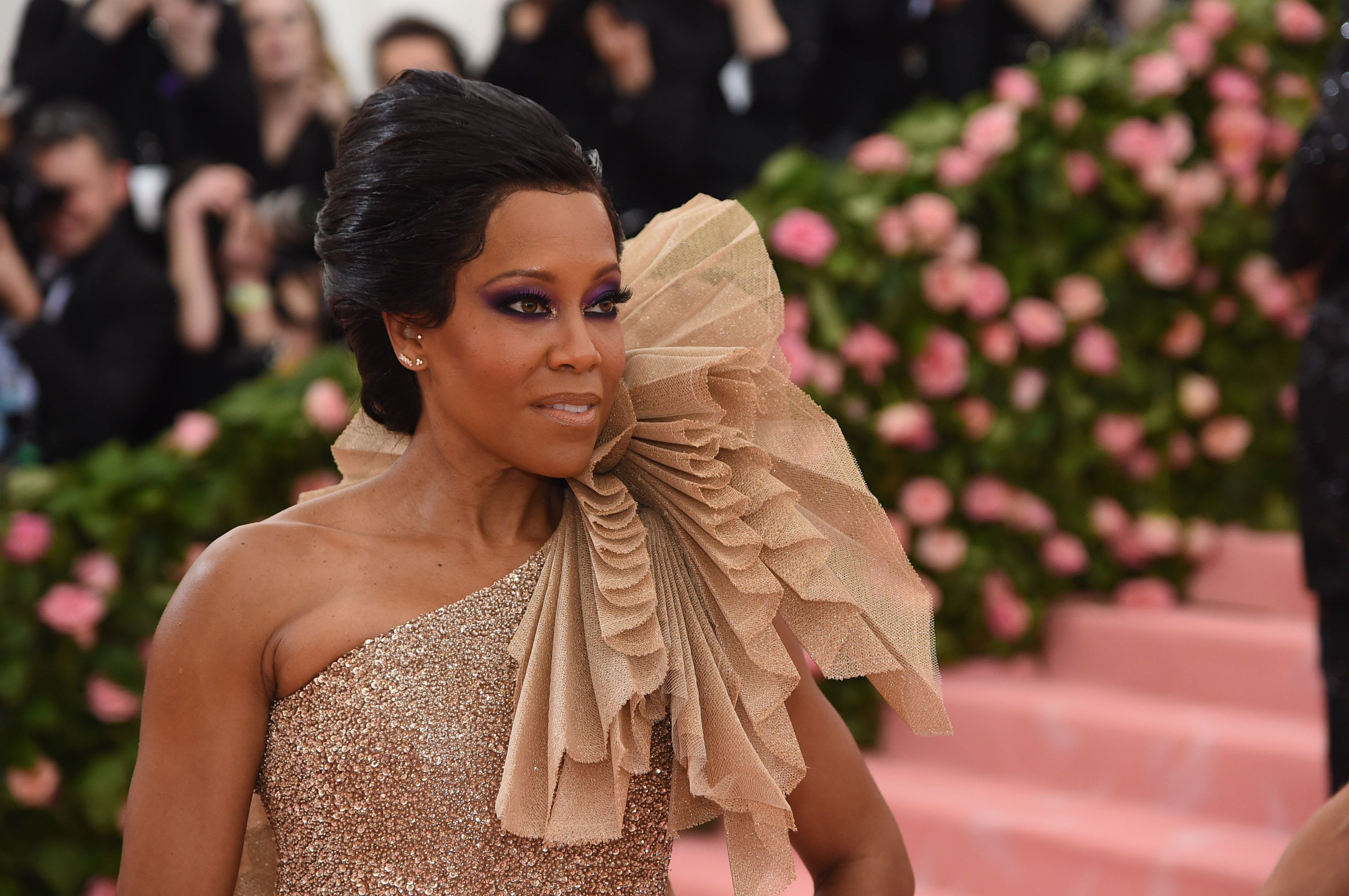 """Regina King at the 2019 Met Gala """"Celebrating Camp: Notes on Fashion"""" at Metropolitan Museum of Art on May 06, 2019 
