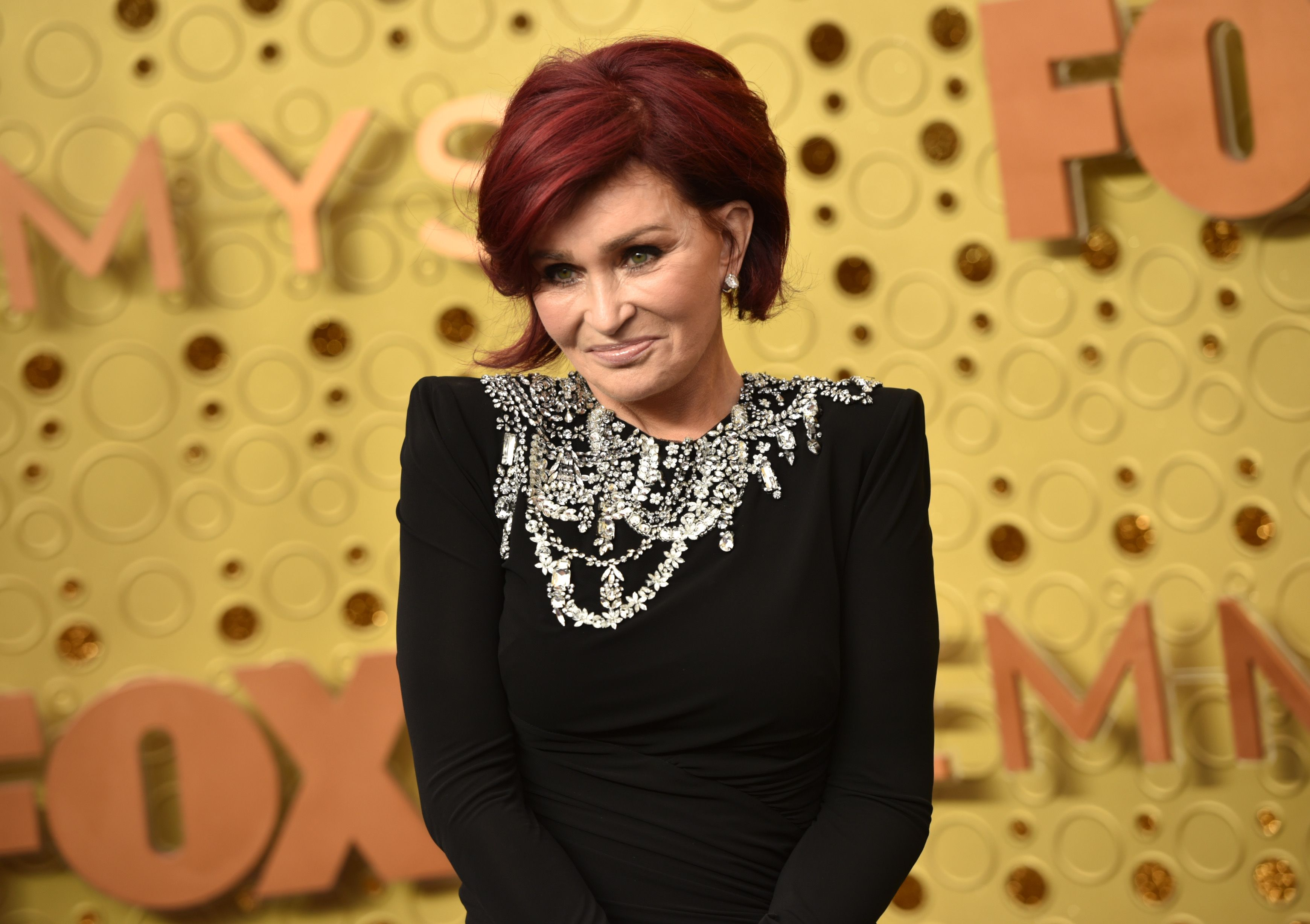 Sharon Osbourne at the 71st Emmy Awards at Microsoft Theater on September 22, 2019 | Getty Images