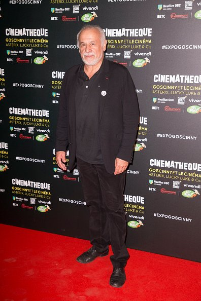 Francis Perrin à la Cinémathèque française le 2 octobre 2017 à Paris, France. | Photo : Getty Images