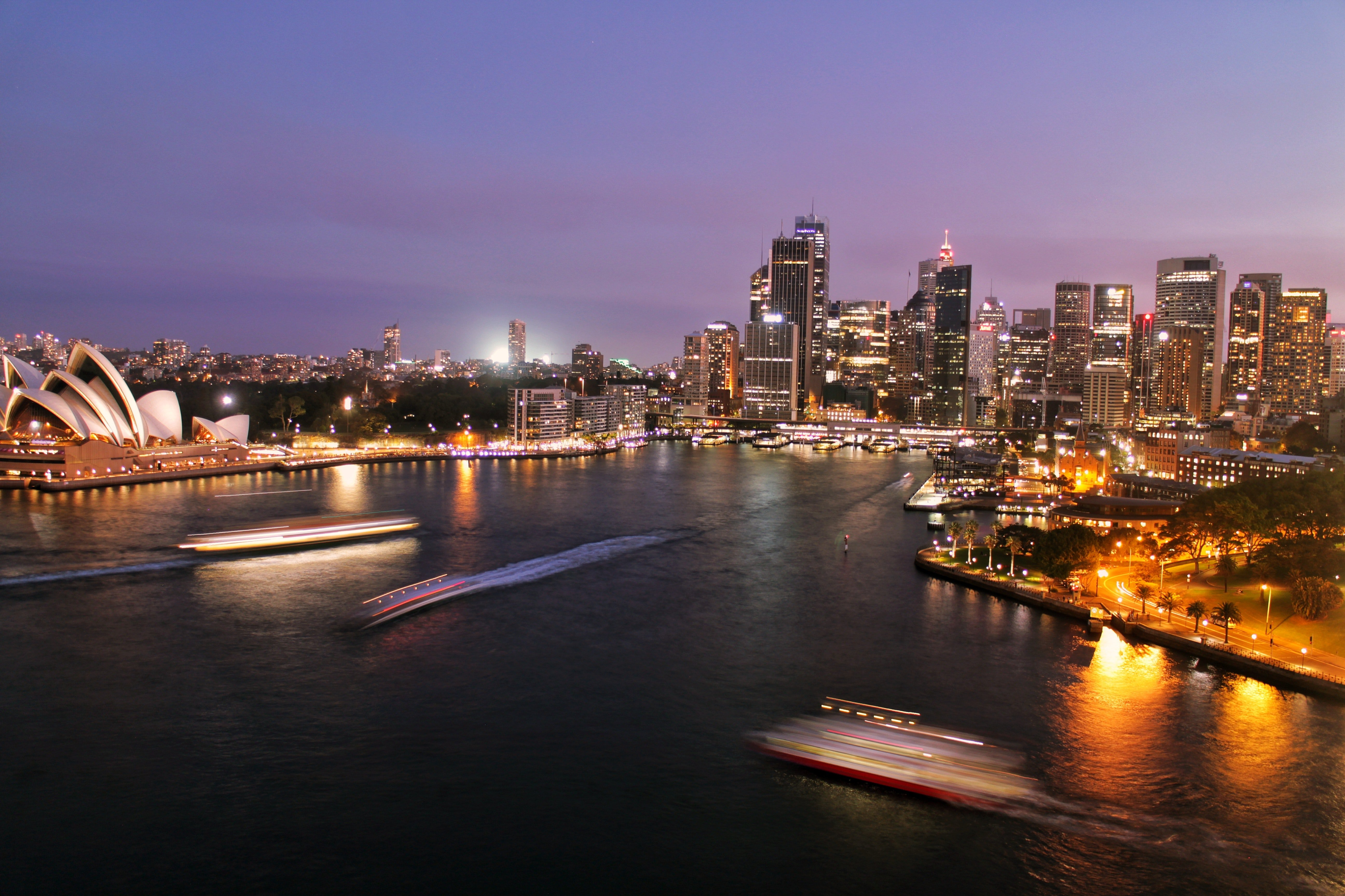 Pictured - An aerial view of Sydney,  Australia   Source: Pexels