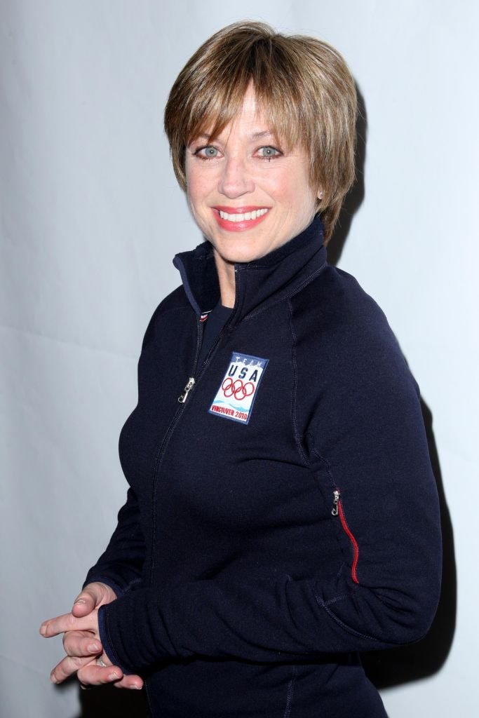 Dorothy Hamill attends The 2010 SKATING WITH THE STARS: A Benefit Gala for FIGURE SKATING IN HARLEM at Wollman Rink on April 5, 2010 | Photo: Getty Images