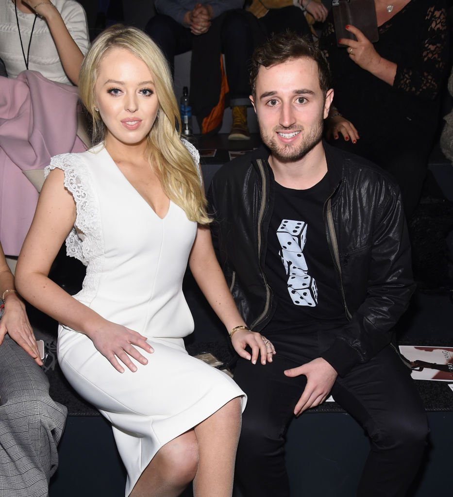 Tiffany Trump and Ross Mechanic at the Taoray Wang Fashion show in New York City on February 11, 2017 | Source: Getty Images